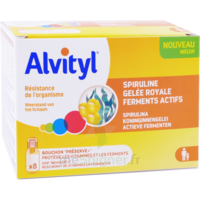 Alvityl Resist Solution Buvable 8 Fioles à TOUCY
