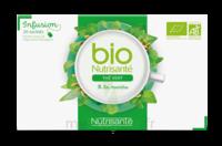 Nutrisanté Infusions Bio Thé Vert Menthe 20 Sachets à TOUCY