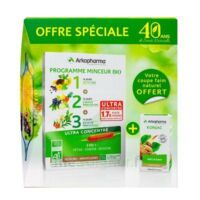 Arkofluides Programme Minceur Bio 30 ampoules/10ml + Arkogélules Konjac B/45 Offre spéciale 40 ans de santé naturelle à TOUCY