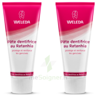 Weleda Duo Pâte Dentifrice Au Ratanhia 150ml à TOUCY