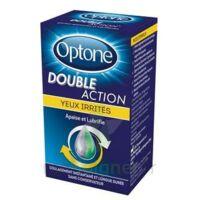 Optone Double Action Solution Oculaire Yeux Irrités Fl/10ml Promo à TOUCY