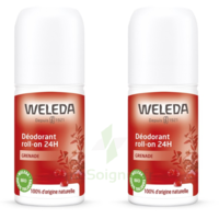 Weleda Duo Déodorant Roll-on 24H Grenade 100ml à TOUCY