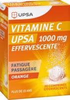 Vitamine C Upsa Effervescente 1000 Mg, Comprimé Effervescent à TOUCY